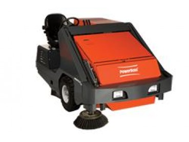 PowerBoss Armadillo 9X and 9XR Rider Sweepers