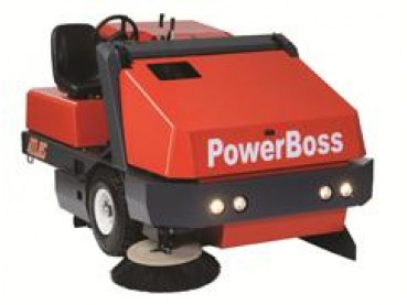 PowerBoss Atlas Rider Sweeper