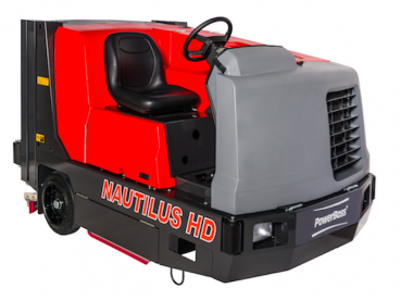 PowerBoss Nautilus HD Sweeper Scrubber