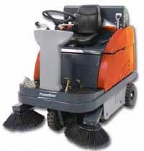 PowerBoss Apex 47 Rider Sweeper