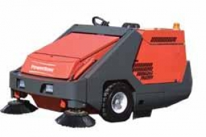 PowerBoss Armadillo 10X Rider Sweeper