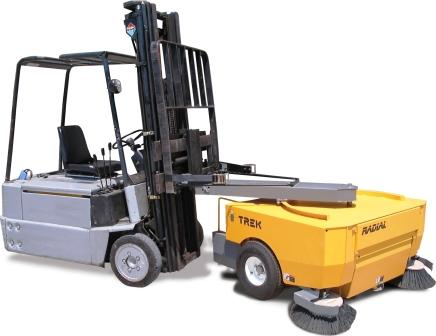 Trek Forklift Sweeper